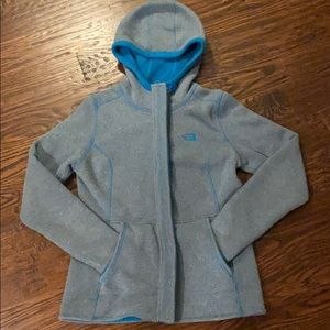 Gray/blue The North Face Jacket